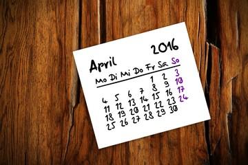 zettl brettl holztisch kalender 2016 IV
