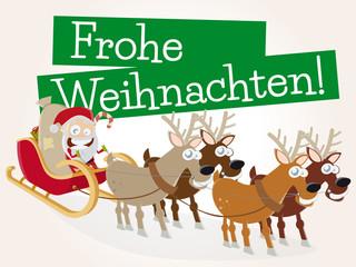 frohe weihnachten karte vorlage lustig