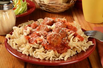 Gluten free pasta dinner