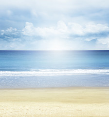 Beach, sea and sun