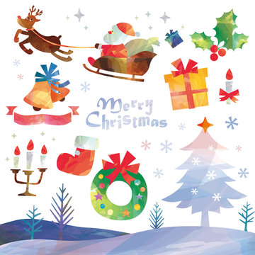 クリスマス素材セット