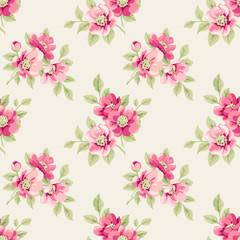 Floral pattern seamless