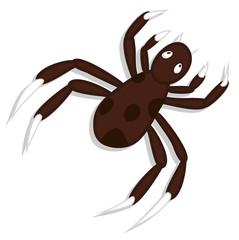 Creepy Spider Vector Art