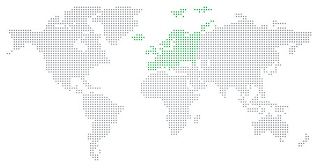 Dotted world map grey buy this stock illustration and explore see more gumiabroncs Images