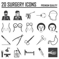 20 surgery icons