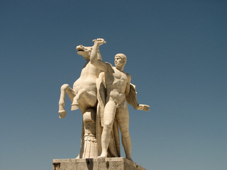 Dioscuro, Roma Eur