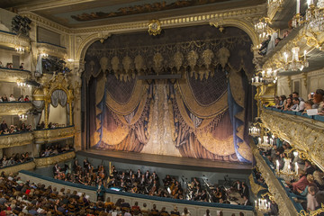 St. Petersburg, Russia. Maryinsky Theater.