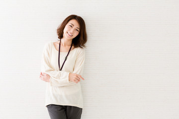 a portrait of asian businesswoman