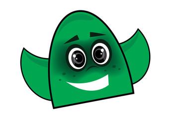zielony duch