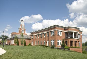 Modern Small Town Municipal Building