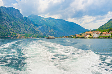 The rocks of Kotor bay