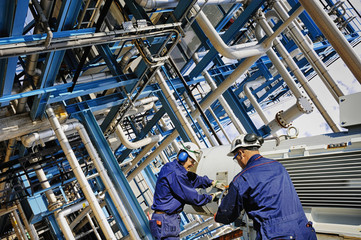oil, gas and fuel industrial refinery