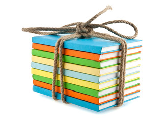 book conjunction with a rope