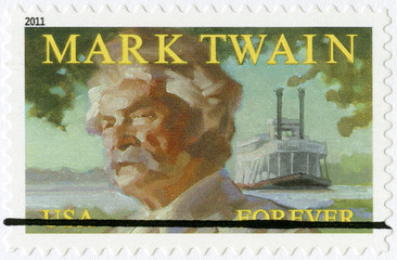UNITED STATES OF AMERICA - 2011: shows Mark Twain (1835-1910)