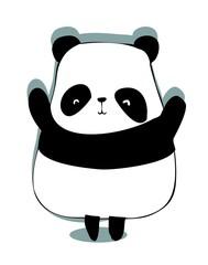 card panda
