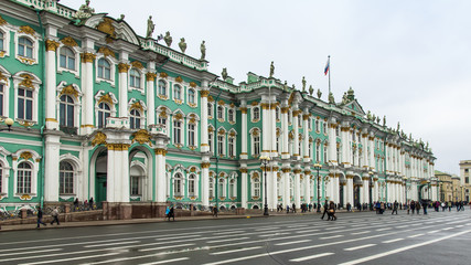 St. Petersburg, Russia. The State Hermitage on Palace Square