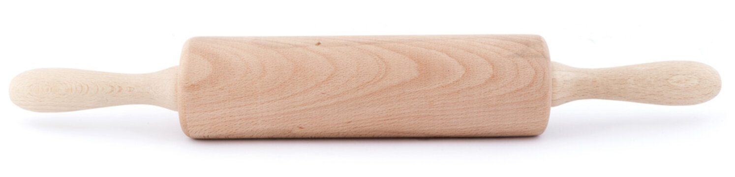 rolling pin isolated