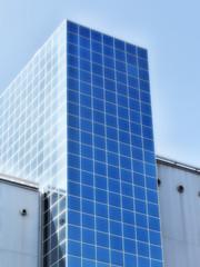 Moderne Stadt-Architektur Hochhaus
