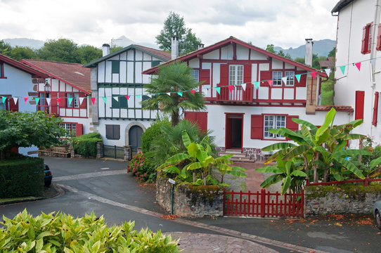 home in Ainhoa, Basque Country, France