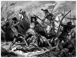 Battle of Agincourt - Azincourt - year 1415