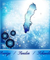 Karte von Schweden