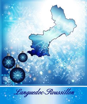 Karte von Languedoc-Roussillon