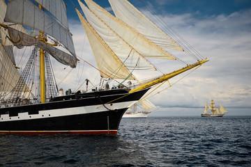 Yachting. Sailing regatta