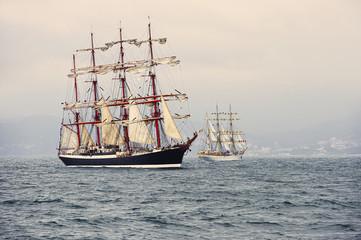 Sailing ships. Sailing. Yachting
