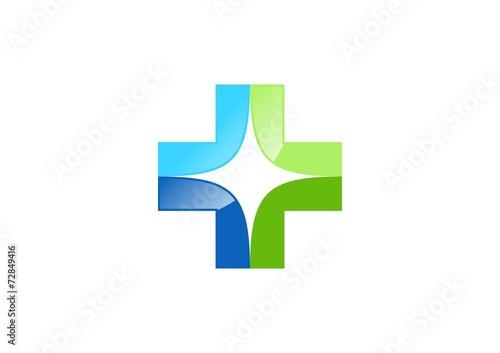 quotmedicinepharmacylogohealth iconcrosssparklightplus