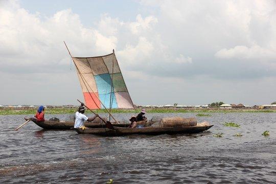 Benin - Fischerdorf