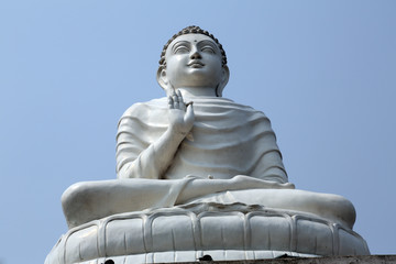 Buddhist temple in Howrah, West Bengal, India