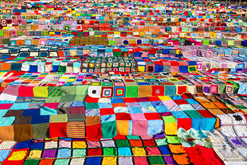 Lots of colourful blocks