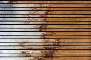alte Holzwand verwittert
