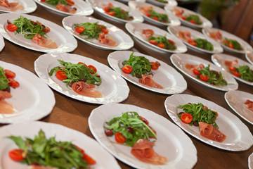 Vorspeise Salat Tomaten