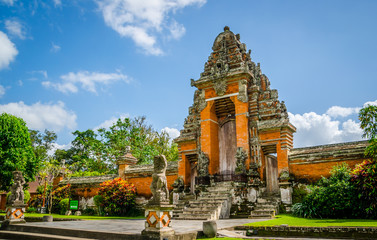 Foto op Canvas Indonesië Taman Ayun temple (Mengwi) in Bali, Indonesia