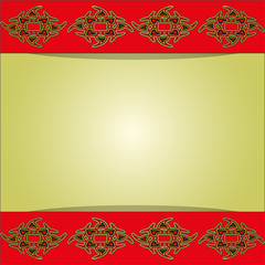 background with beautiful pattern