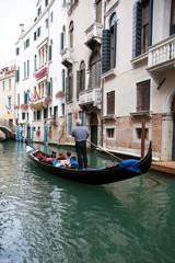 Foto op Aluminium Venetie gondola en Venecia