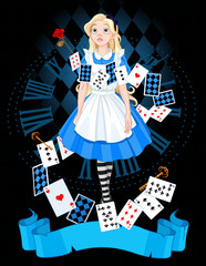 Canvas Prints Fairytale World Alice in wonderland