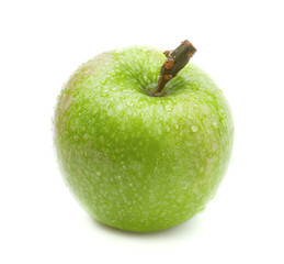 Ripe green apple.