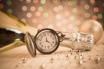 New Year's midnight Fotoväggar