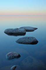 White nights on Lake Ladoga