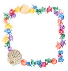Multi-colored shells