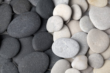 Black and white stones background