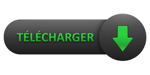 "Bouton Web ""TELECHARGER"" (download télécharger pdf vecteur)"