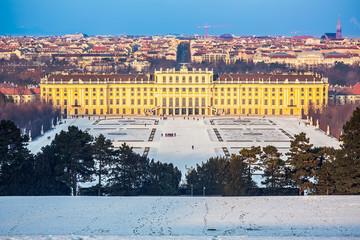 In de dag Wenen Schonbrunn Palace, Vienna