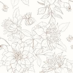 Dahlia pattern 1