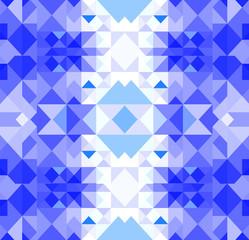 Christmas geometric pattern