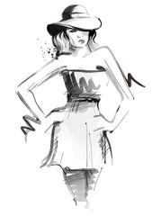 Fashioned Woman