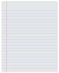 Notebook. Paper