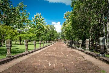 Phanom Rung Historical Park ,the walk way